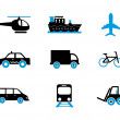 Stock Vector: Travel icons