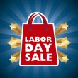 Labor day sale — Stock Vector #29016785