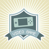 Video game — Stock Vector