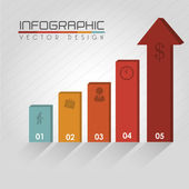 Infografika — Stock vektor