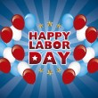 Happy labor day — Stock Vector #29020505