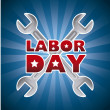 Labor day — Stock Vector #29020747