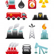 Stock Vector: Fuel icons