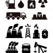Fuel icons  — Stock Vector