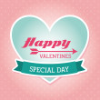 Stock Vector: Happy valentines