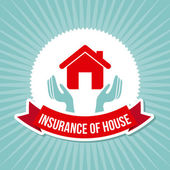 Isurance of house — Stock Vector