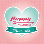 Happy valentines — Stock Vector