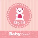 Baby girl — Stock Vector #29327009