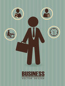 деловой дизайн — Cтоковый вектор