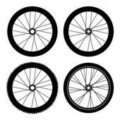 Fahrradreifen — Stockvektor