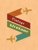 Airplane design — Stock Vector