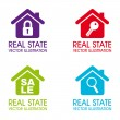 Real estate icons — Stock Vector #29330381