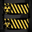 Biohazard signs — Vector de stock