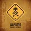 Warning — Stock Vector