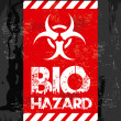 Bio hazard — Stock Vector