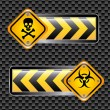 Biohazard signs  — Grafika wektorowa