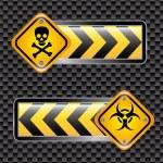 Biohazard signs — Stock Vector #29331385