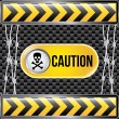 Caution — Stock Vector