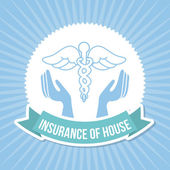 Insurance of house — Stock Vector