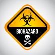 Biohazard — Stock Vector