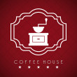 Coffee house — Stock Vector