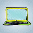 Laptop design — Stockvector #29524855
