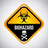 Biohazard — Vector de stock