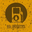 Stock Vector: Oil industry