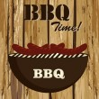 Stock Vector: Bbq time