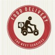 Food delivery — Stock Vector #29584281