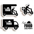 Delivery food — Stock Vector #29584615