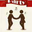 Enjoy the party — Stock Vector