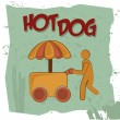 Hot dog — Stock Vector #29585521