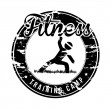 Stock Vector: Fitness seal