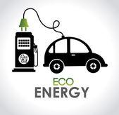 Eco energy — Stock Vector