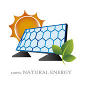 Natural energy — Stock Vector