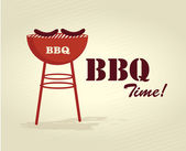 Bbq time — Stock Vector