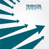 Financial growth — Stock Vector