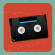 Stock Vector: Video tape