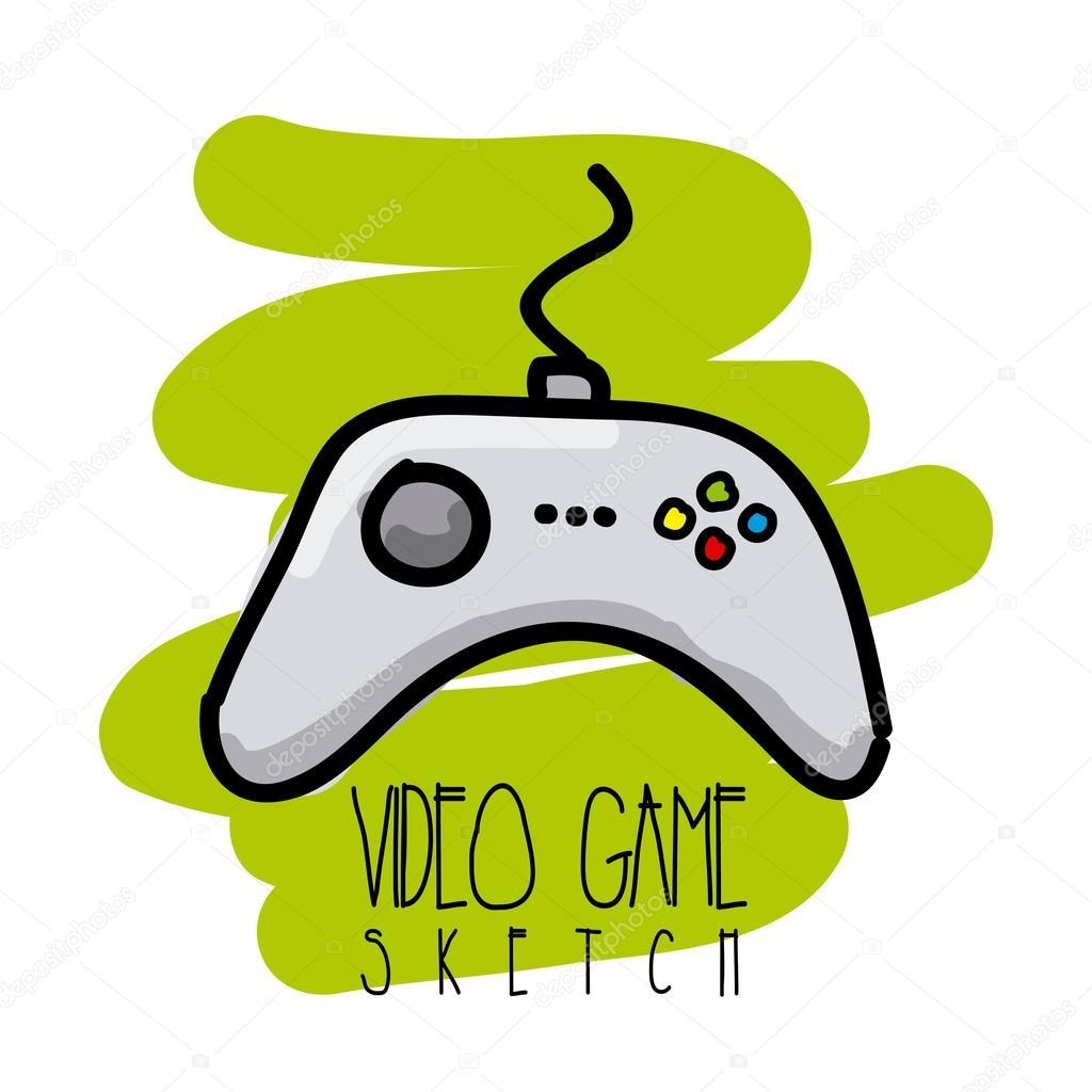video game por
