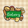 Stock Vector: Bakery design