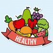 Healthy food — Stock vektor