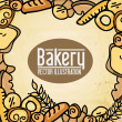 Stock Vector: Bakery label