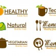 Organic labels — Stock Vector #29952943