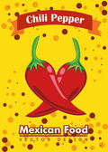 Mexican food — Vector de stock