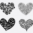 Hearts icons — Stock Vector #30274963