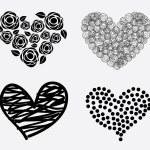Hearts icons — Stock Vector #30274963