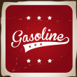 Gasoline — Stock Vector #30275843