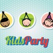 Kids Party — Stock Vector #30276533