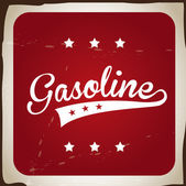 Gasoline — Stock Vector